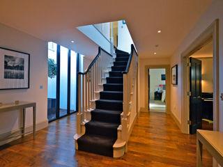 Orchard End Zodiac Design Modern corridor, hallway & stairs