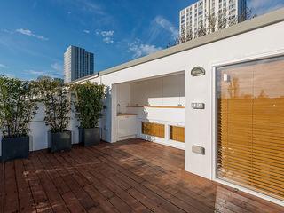 Private House Refurbishment in Primrose Hill, London AR Architecture Roof terrace
