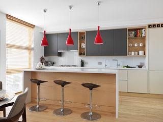 Private House Refurbishment in Primrose Hill, London AR Architecture Modern kitchen