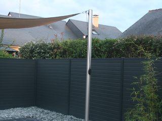 Aménagement complet pour un jardin de centre ville EURL OLIVIER DUBOIS Jardin moderne