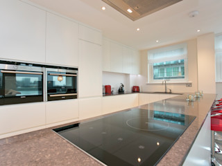 Cinnabar Wharf, Wapping High Street, London, E1 Temza design and build CocinaElectrónica