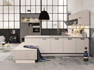 Wood Kitchens LWK London Kitchens Dapur Gaya Industrial