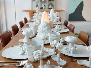 Bram van Leeuwenstein ห้องทานข้าวถ้วยชามและเครื่องแก้ว