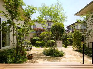 COURT HOUSE FURUKAWA DESIGN OFFICE Jardin moderne