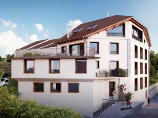 von Mann Architektur GmbH ラスティックな 家