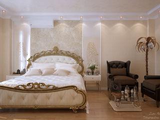 Студия интерьерного дизайна happy.design Eclectic style bedroom