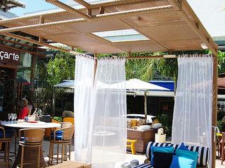 Cadore Arquitetura Balkon, Beranda & Teras Tropis