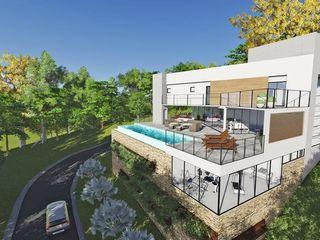 TRAÇO FINAL ARQUITETURA E INTERIORES Modern Houses