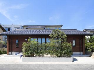 白根博紀建築設計事務所 모던스타일 주택