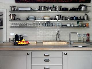 Chichester Town House Tim Jasper Industrial style kitchen