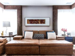 MAISON SAVOYE Barbara Dundes   ARQ + DESIGN Salas de estar modernas