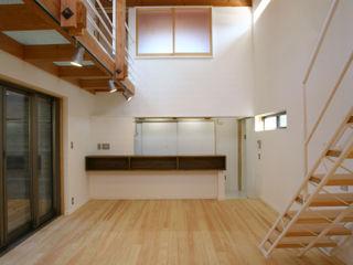 白根博紀建築設計事務所 모던스타일 다이닝 룸