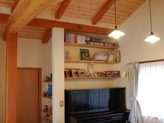 石和の舎 有限会社中村建築事務所 オリジナルデザインの 多目的室
