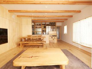 一級建築士事務所co-designstudio Modern living room