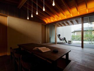 小野の家 有限会社ミサオケンチクラボ モダンデザインの リビング