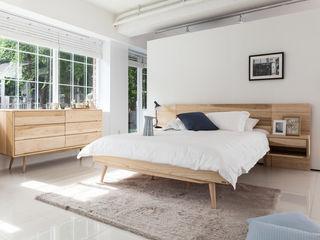 시더스디자인그룹 Camera da letto in stile scandinavo