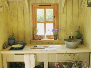 Huts Plankbridge Cocinas de estilo rural