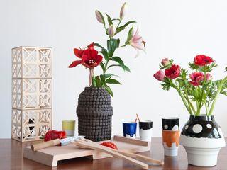 Woonaccessoires in hout en keramiek Design X Ambacht KeukenAccessoires & textiel