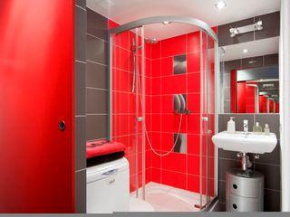 Studio Projektowe RoRO interior + design Kamar Mandi Gaya Industrial