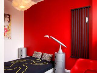 Studio Projektowe RoRO interior + design Kamar Tidur Gaya Industrial