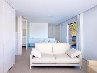 Casa GSX Estudi Agustí Costa Salones de estilo moderno
