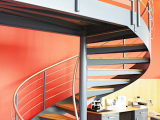 Spiral Staircase Exeter Complete Stair Systems Ltd 玄関&廊下&階段階段