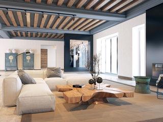 Pfayfer Fradina Design Ruang Keluarga Gaya Skandinavia