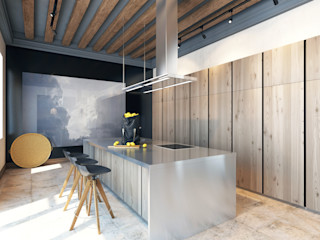 Pfayfer Fradina Design Dapur Gaya Skandinavia
