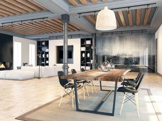 Pfayfer Fradina Design Ruang Makan Gaya Skandinavia