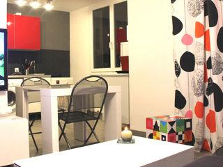 Rénovation d'un T2 pour petits budgets Atelier OCTA Cuisine moderne