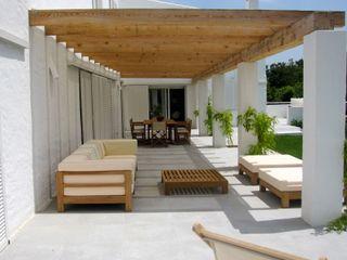 Single family house in Alaior 2 FG ARQUITECTES Modern Terrace