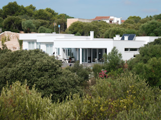 Detached house in Binibeca FG ARQUITECTES Modern Houses