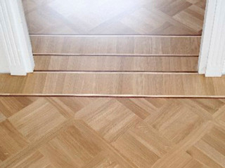 Profi Parkiet II Paredes y pisos de estilo clásico