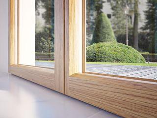Finestre Optima Qr legno srl Finestre & Porte in stile minimalista