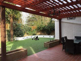 Mediterainan Garden design and build Progressive Design London