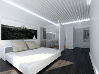 lacooperativaarquitectos Chambre moderne