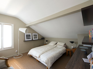 Hélène de Tassigny Modern Yatak Odası
