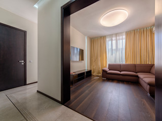 Platon Makedonsky Minimalist living room