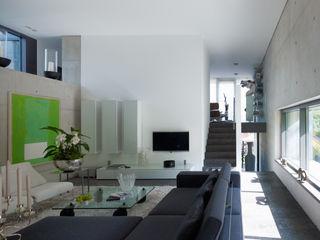 PaulBretz Architectes Salon minimaliste