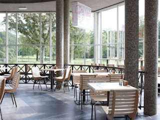 Interieur T Huis Design X Ambacht Industriële gastronomie