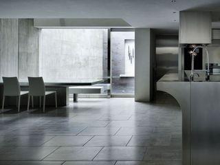 Concrete Wallpaper XSTONE XSTONE Bodenbelags GmbH Cuisine moderne