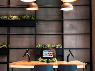 Concrete Wallpaper XSTONE XSTONE Bodenbelags GmbH Hôtels modernes