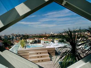 ATTICO a BRESCIA Studio Architettura Carlo Ceresoli Piscina moderna