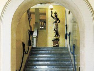 Villa Belvedere - Blevio Lago di Como Archiluc's - Studio di Architettura Stefano Lucini Architetto Ingresso, Corridoio & Scale in stile classico