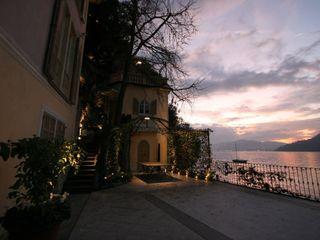 Villa Silva - Torno Lago di Como Archiluc's - Studio di Architettura Stefano Lucini Architetto Balcone, Veranda & Terrazza in stile classico