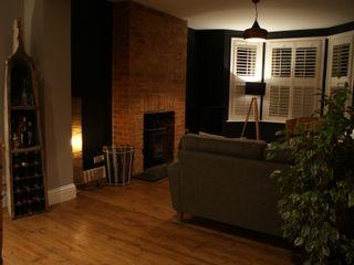 Open Plan Living - New South Coast Extension BluBambu Living Гостиная в рустикальном стиле