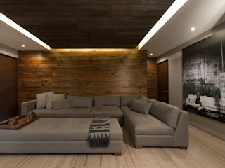 kababie arquitectos WoonkamerSofa's & fauteuils
