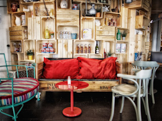 Chicken Bar Monchos Paletto's Furnature ComedorSillas y bancos