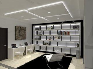 AurEa 34 -Arquitectura tu Espacio- Estudios y despachos de estilo moderno