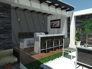AurEa 34 -Arquitectura tu Espacio- Jardines de estilo minimalista